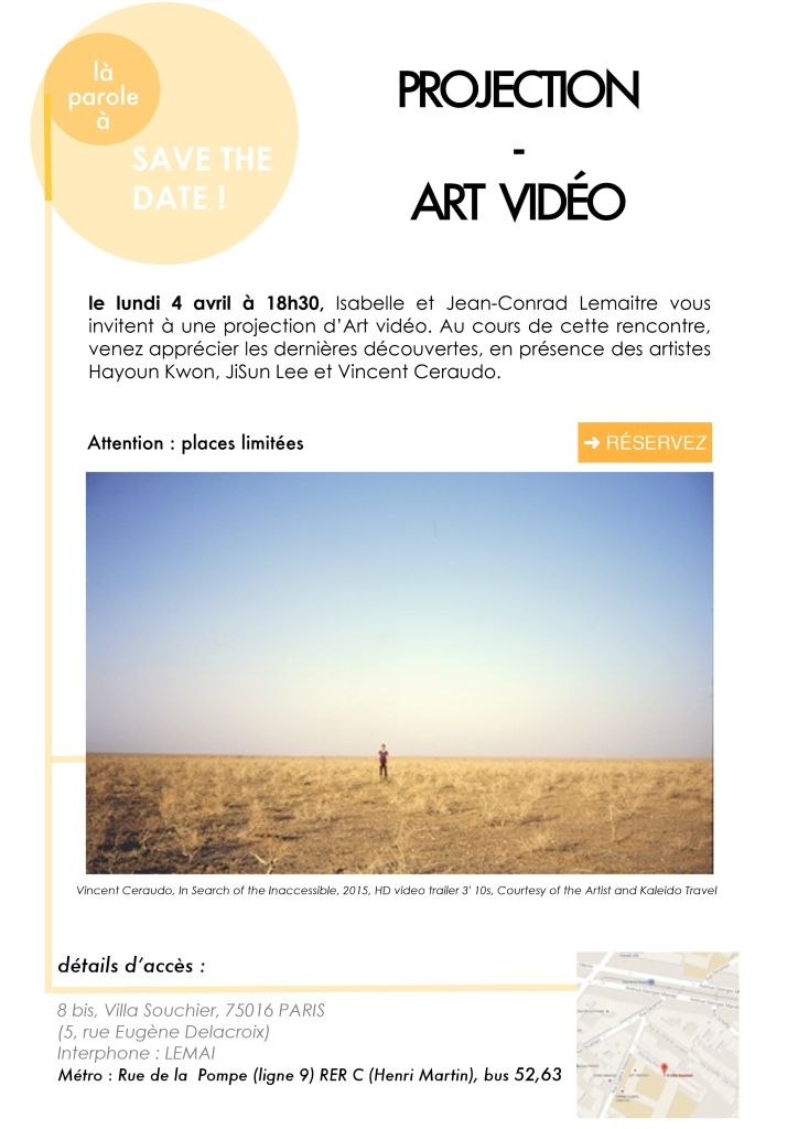 projection Art Vidéo